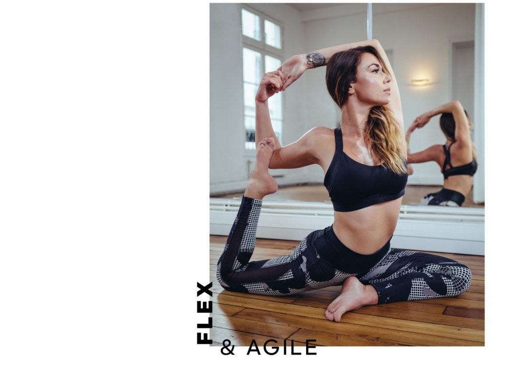 adidas statement collection Clio Pajczer Yoga