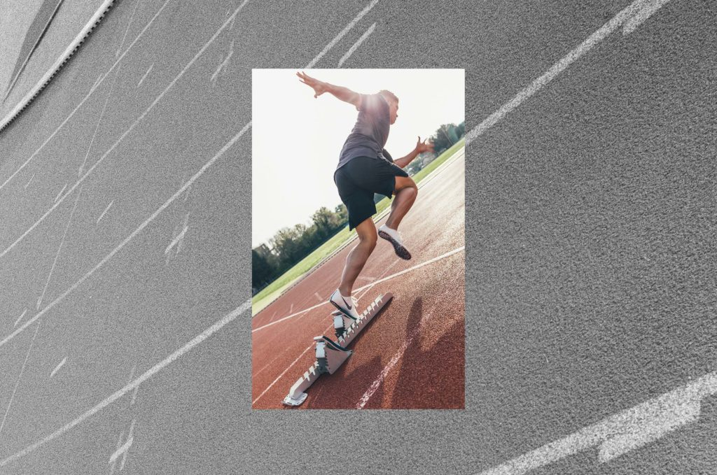 Kevin Mayer - Nike training track and field running