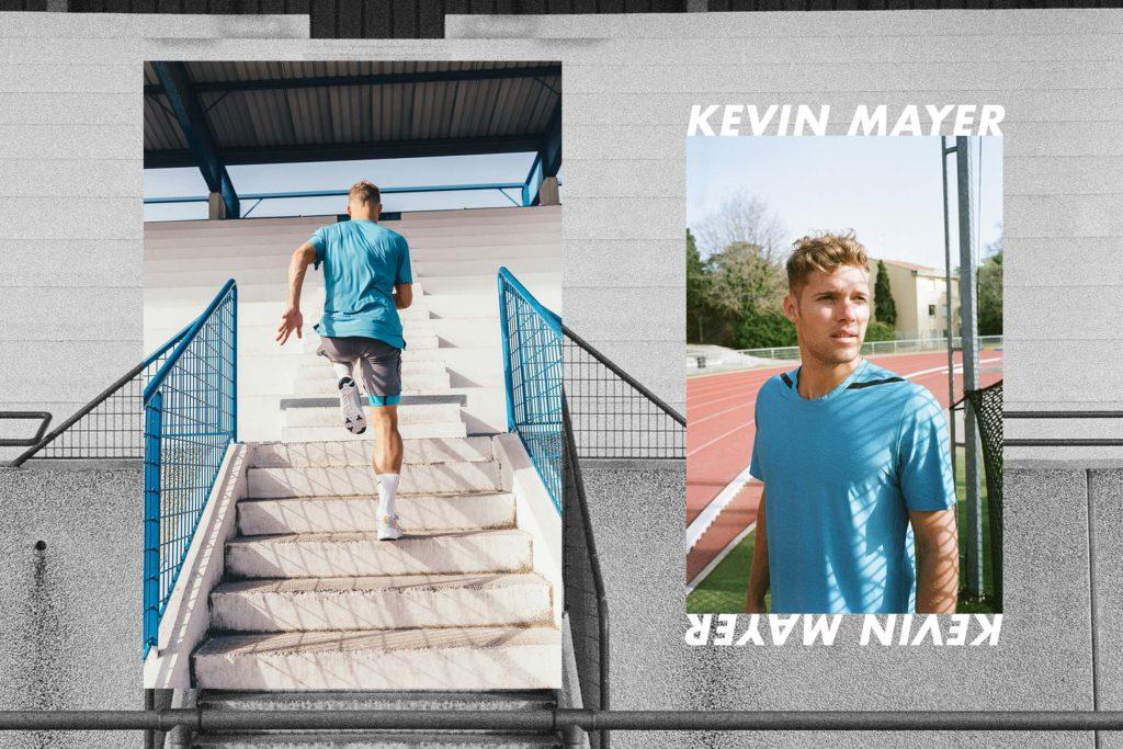 Kevin Mayer - Nike training stadium