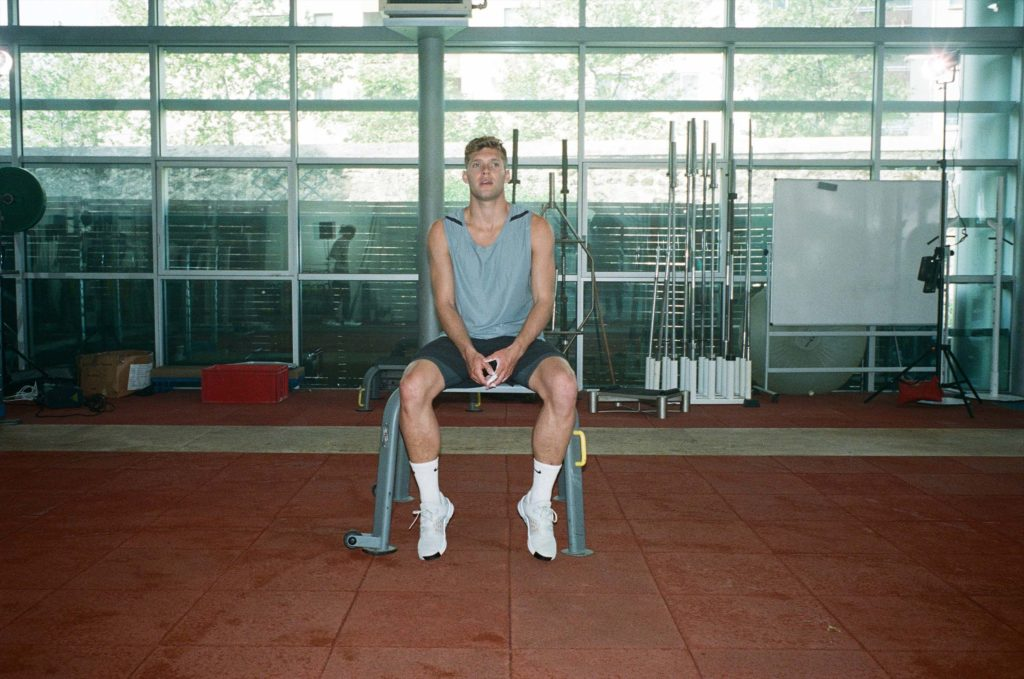 Kevin Mayer - Nike training panorama