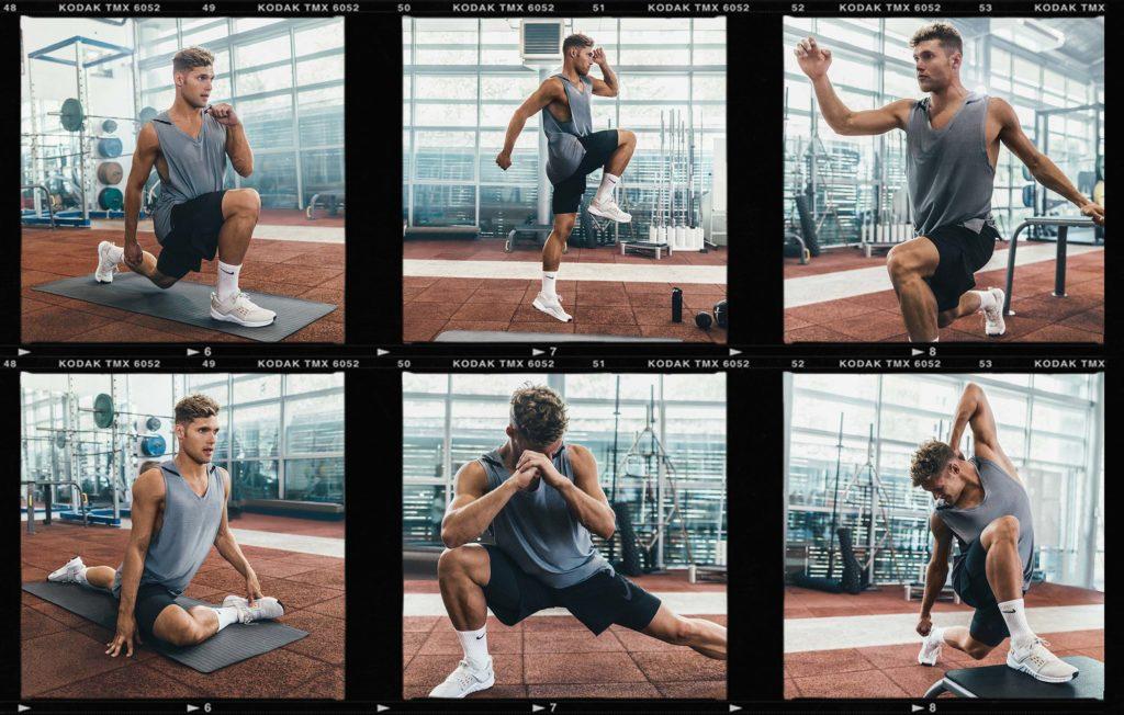 Kevin Mayer - Nike training contact sheet