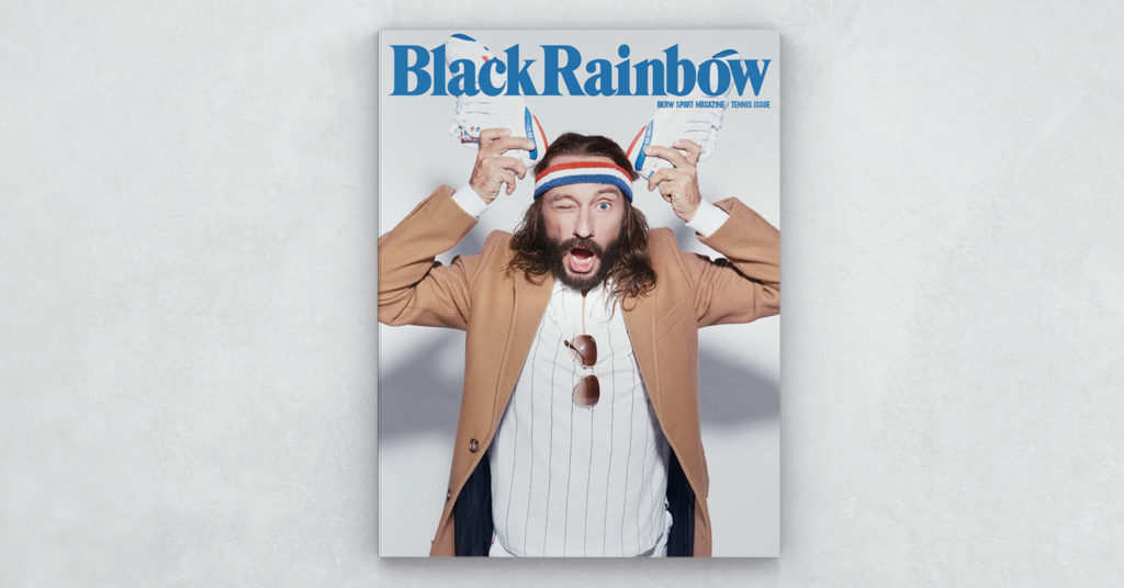 blackrainbow magazine tennis issue - judge do it - Bob Sinclar