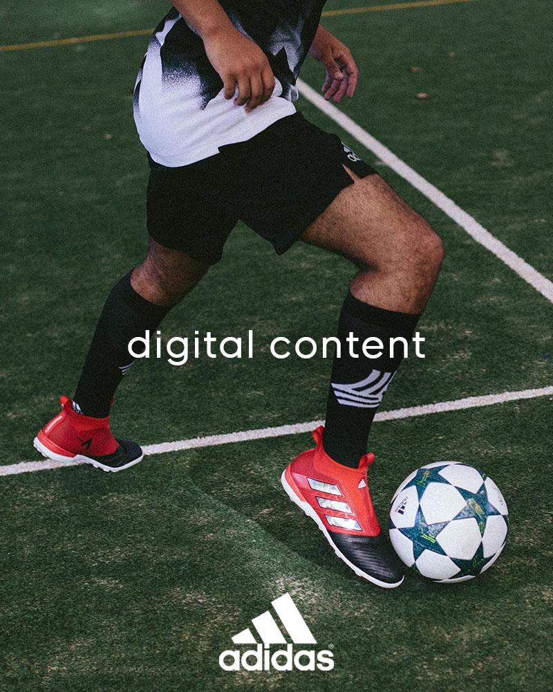 adidas football digital content